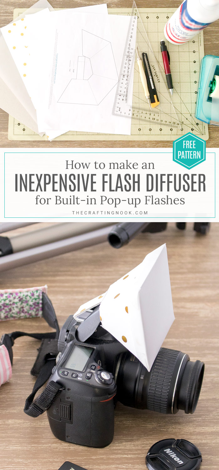 How to make a Flash Diffuser for DSLR Built-in flash