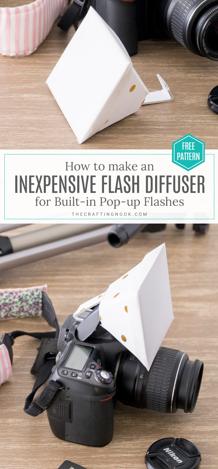 DIY Flash Diffuser for DSLR Built-in flash on a budget