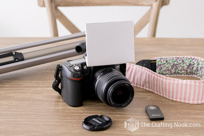 Inexpensive Flash Diffuser for DSLR Built-in flash