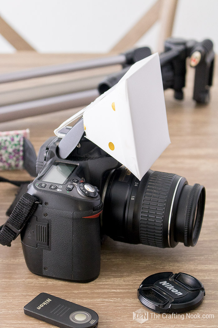 Super easy Flash Diffuser for DSLR Built-in flash