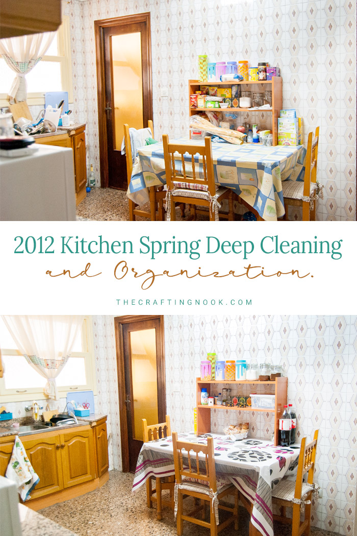 Spring Kitchen Deep Cleaning and Organization