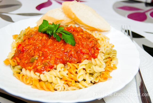 Delicious Fusilli Tuna Pasta Sauce Recipe