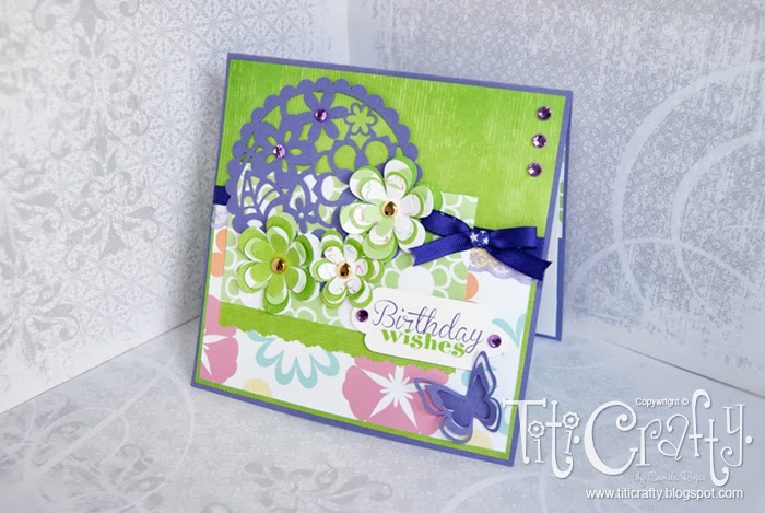 Violet Garden Birthday Card!