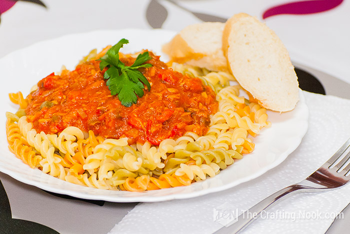 Delicious Easy Fusilli Tuna Pasta Sauce Recipe