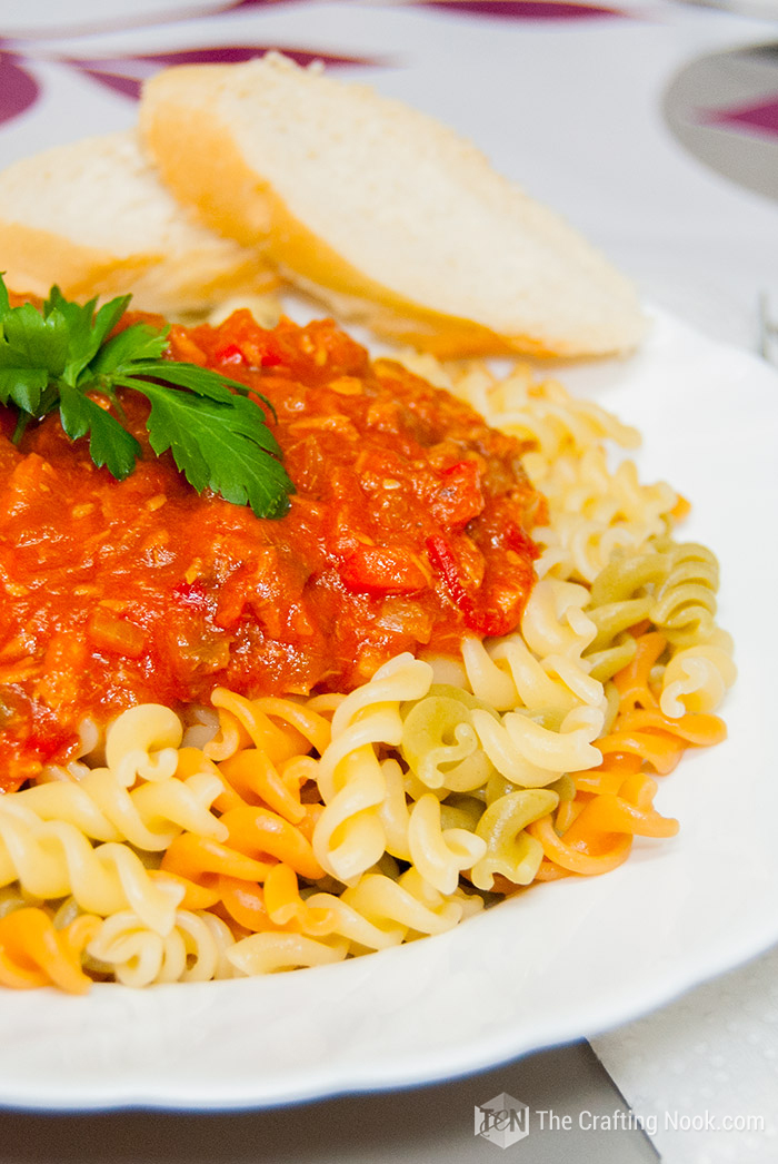 Easy Fusilli Tuna Pasta Sauce Recipe