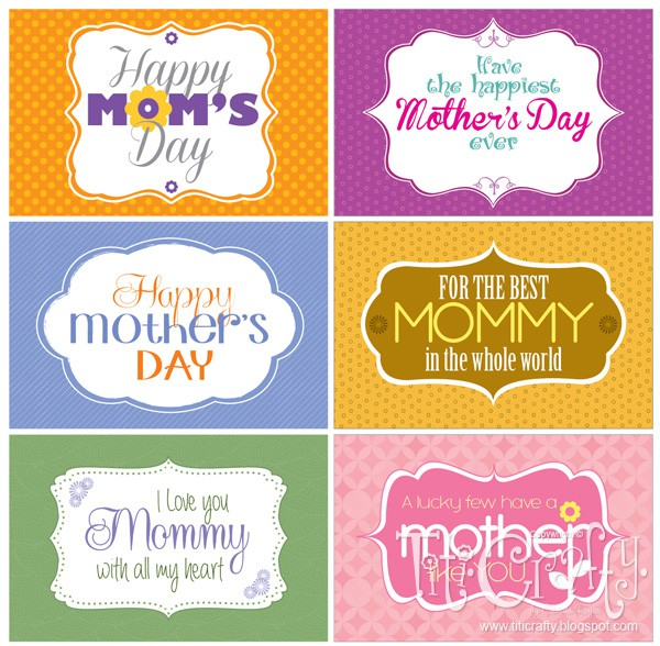 giving some love mother 39 s day printable tags titicrafty by camila. Black Bedroom Furniture Sets. Home Design Ideas