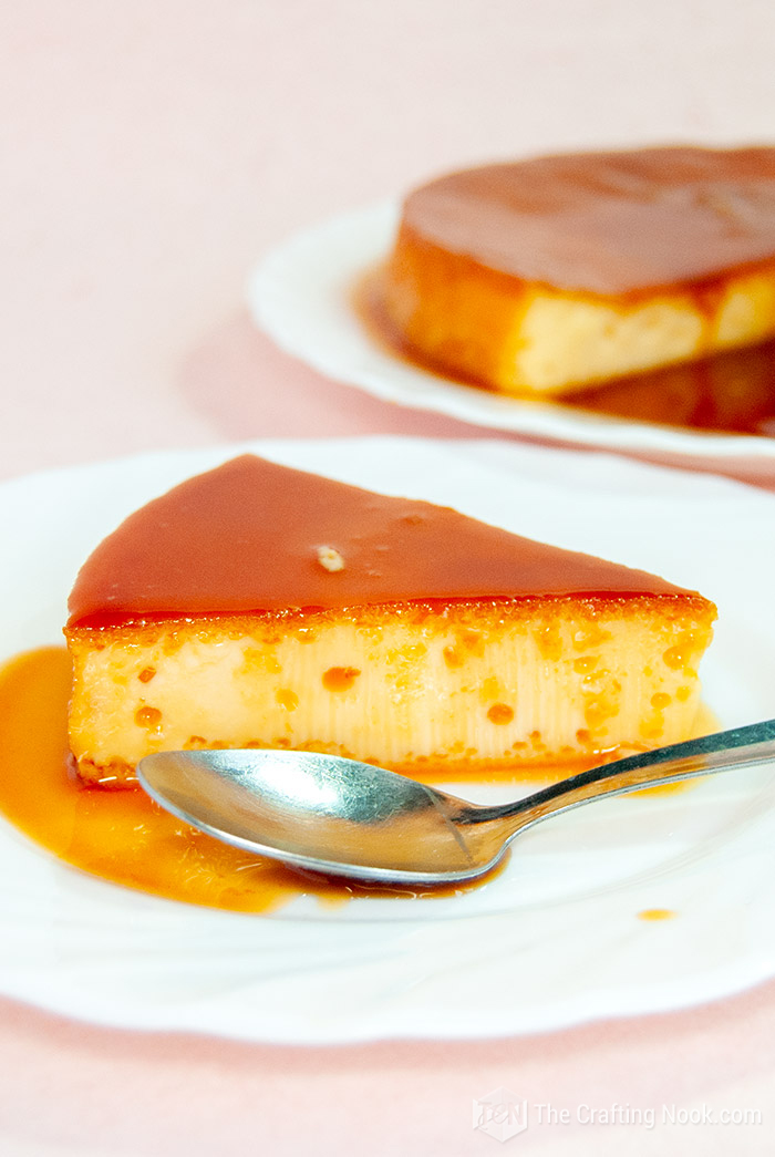How to make a 4-Ingredients Caramel Flan or Quesillo Venezolano