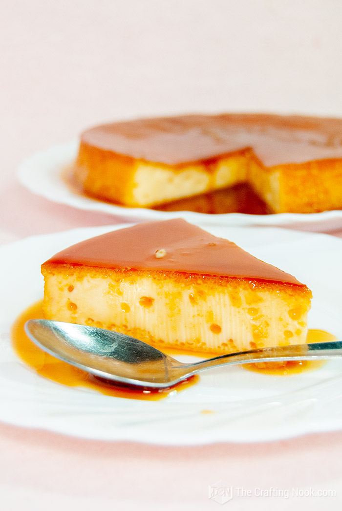 4-Ingredients Easy Caramel Flan or Quesillo Venezolano