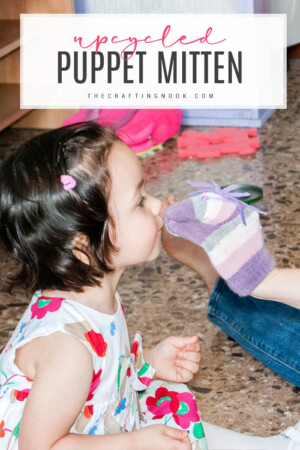 DIY Upcycled Puppet Mitten