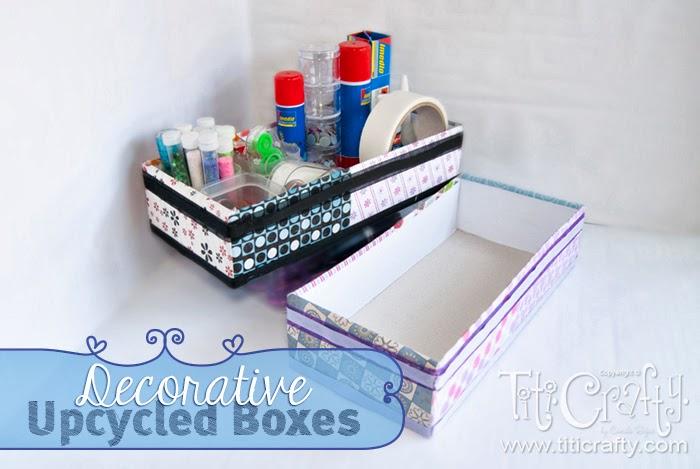 Lovely Decorative Upcycled Boxes