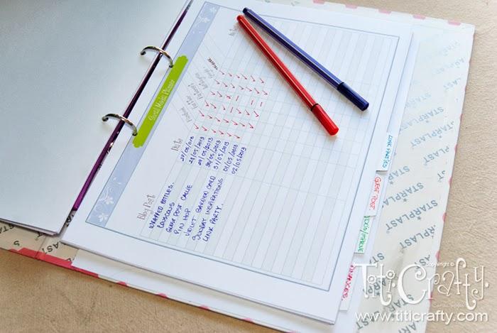 Old Blogging Planner