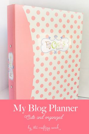 My Cute Blog Planner