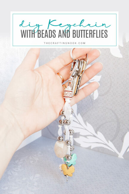 Keychain Beads and Butterflies Tutorial