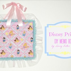 DIY Disney Princess Memo Board