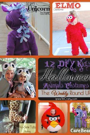 12 DIY Kids Halloween Animals Costumes. The Weekly Round Up