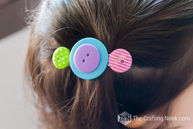 DIY-Button-Hair-Clips
