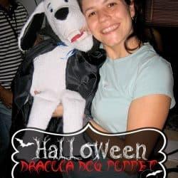 Halloween Dracula Dog Puppet #halloweenshow #halloweenparty #halloweenproject