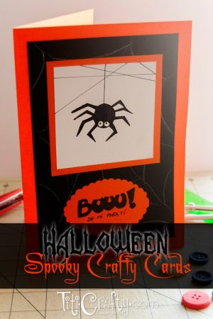 Halloween Spooky Crafty Cards #halloweencards #halloweengift #halloweenideas