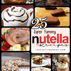 25 Super Yummy Nutella Recipes.