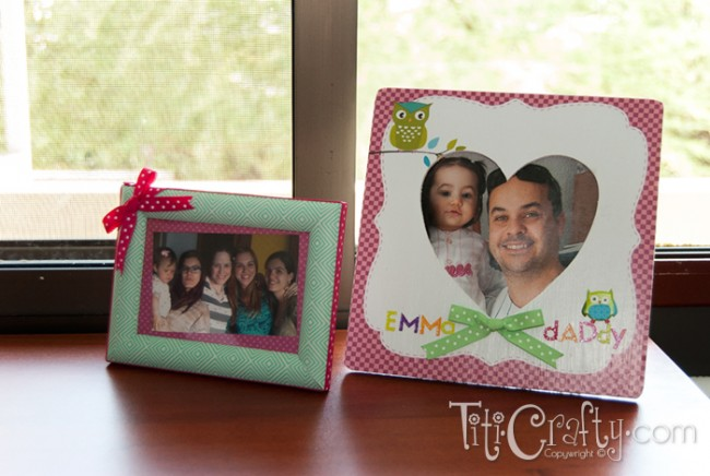 Masking Tape Photo Frame (Memory Keepsake)