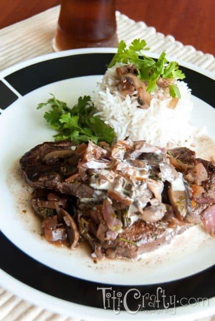 Tenderloin-Steaks-Red-Wine-Mushroom-Sauce