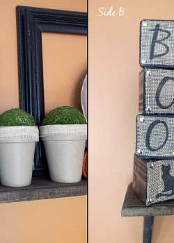 {Guest Post} Fall / Halloween Letter Blocks by Beca from Creative Dominican