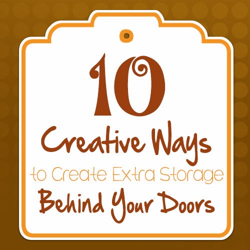 10 Creative Ways to Create Extra Storage Behind your Doors