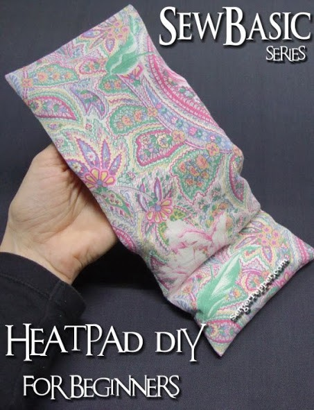 Heat Pad DIY For Beginners. Sew Basic Series