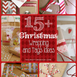 15+ Christmas Gift Wrapping Ideas (and Tags too)