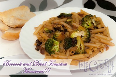 http://titicrafty.com/2013/04/broccoli-and-dried-tomatoes-macaroni/