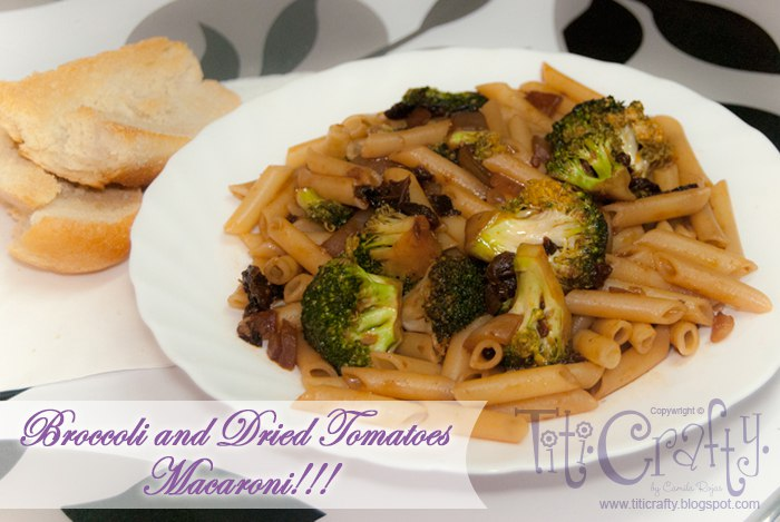 Broccoli and Dried Tomatoes Macaroni Recipe