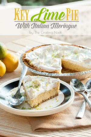 Key Lime Pie with Italian Meringue