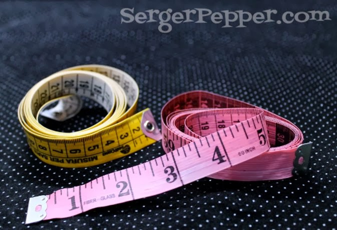 SergerPepper.com Guest Post - Sew Basic Series - Sewing Tools and Notions - TitiCrafty.com - Measure Tape