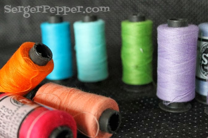 SergerPepper.com Guest Post - Sew Basic Series - Sewing Tools and Notions - TitiCrafty.com - Threads