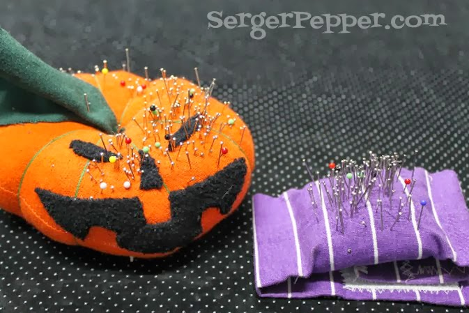 SergerPepper.com Guest Post - Sew Basic Series - Sewing Tools and Notions - TitiCrafty.com - Pins and Pincushion(s)