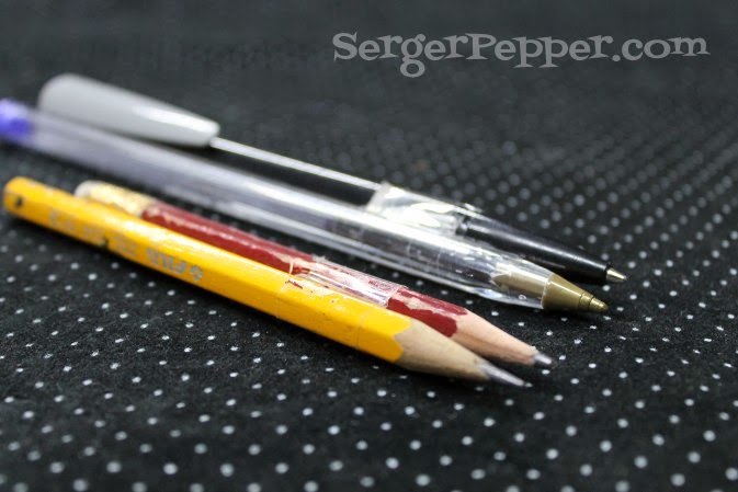 "SergerPepper.com Guest Post - Sew Basic Series - Sewing Tools and Notions - TitiCrafty.com -  ""Professional"" Tools to Add Seam Allowances"