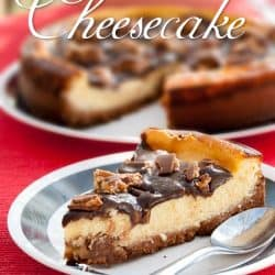 Snickers Bars Chunks Cheesecake Recipe #Cheesecakerecipe #snickersrecipe #snickerscheesecake