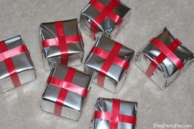 All wrapped gifts