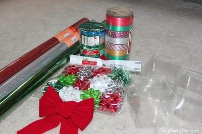Supplies for DIY Gift Box