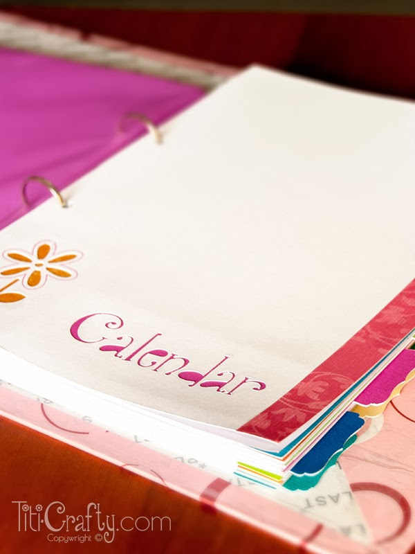 Blog Planner Sheet Dividers Free Cut Files The