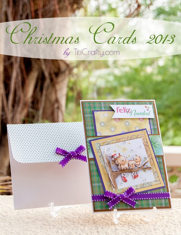 Layered Lovely Christmas Cards