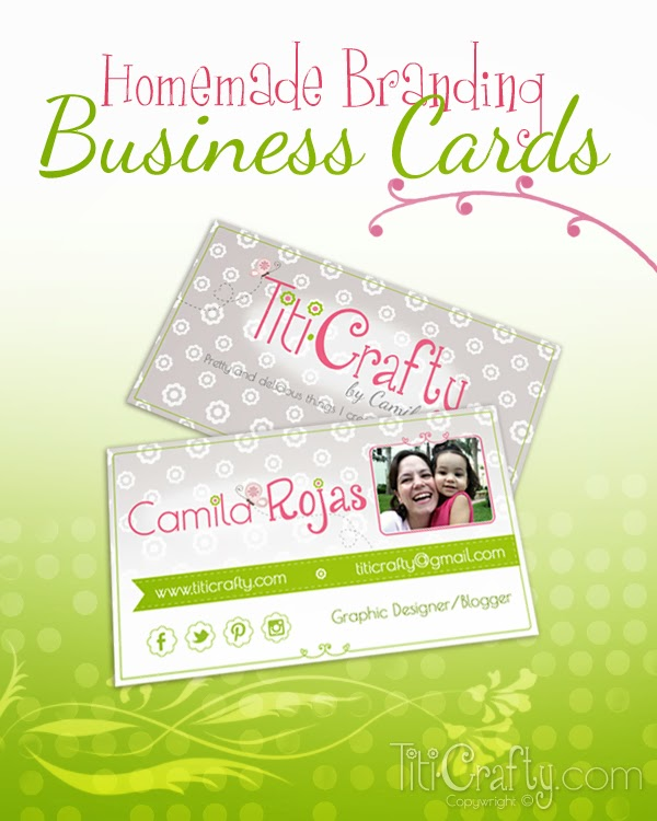 Homemade Branding Business Cards