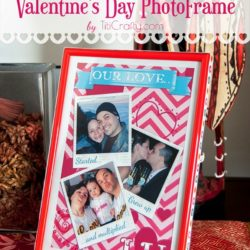 Cute Valentine's Day Photo Frame with Free Printable