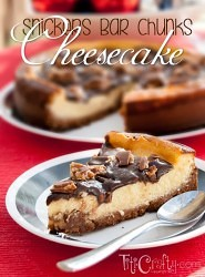 Snickers-Chunks-Cheesecake-Recipe
