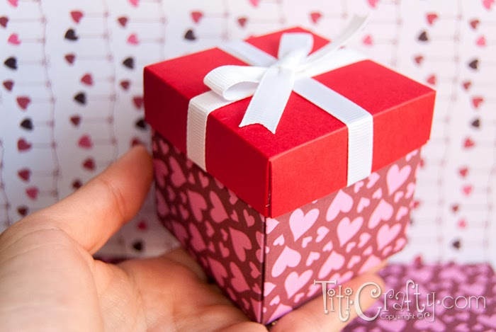 DIY Valentine's Day Favor Box and #Printable #ValentinesDayGift #Valntinesdayfavorbox