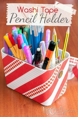 http://titicrafty.com/2013/10/diy-washi-tape-pencil-holder/