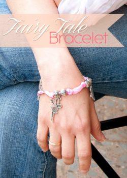DIY Fairy Tale Bracelet #handmadejewelry #craftyJewelry #diyBracelet