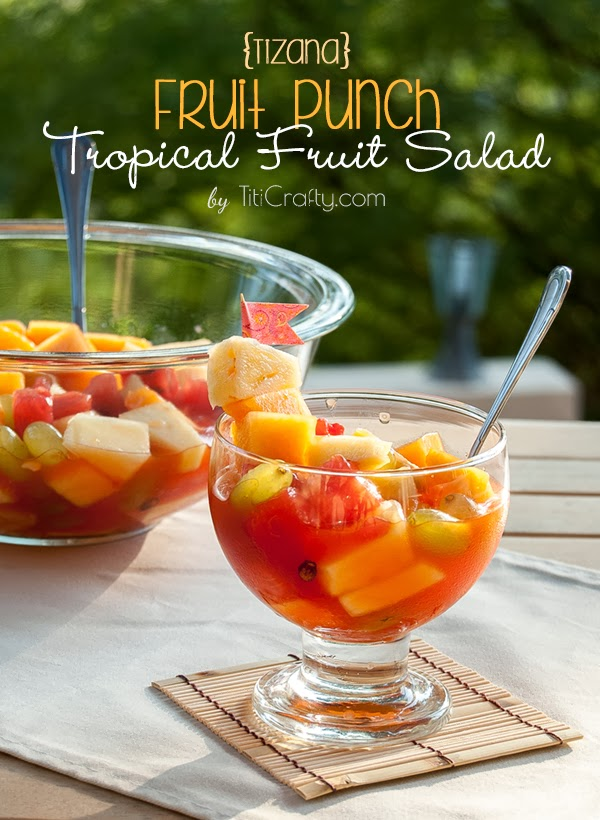 Tizana. Fruit Punch Tropical Fruit Salad