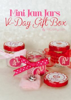 Mini Jam Jars Valentine's Day Gift Box
