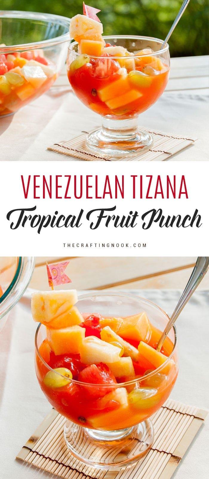 Tizana is a traditional treat in Venezuela.
